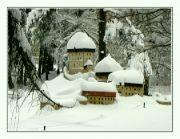 Zimní Karlštejn