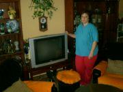 to je moje nová televize v obýváku