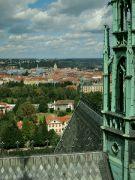 Výhled z Jižní věže