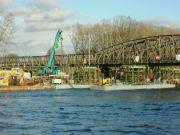 Příprava pontonů