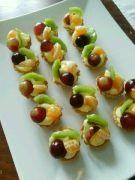 Košíčky s pudinkem a ovoce