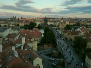 Výhled z Malostranské mostecké věže