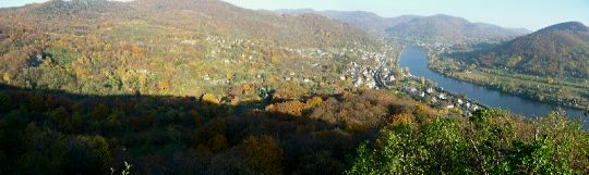 Panorama vyhlídka Mlynářův kámen 2