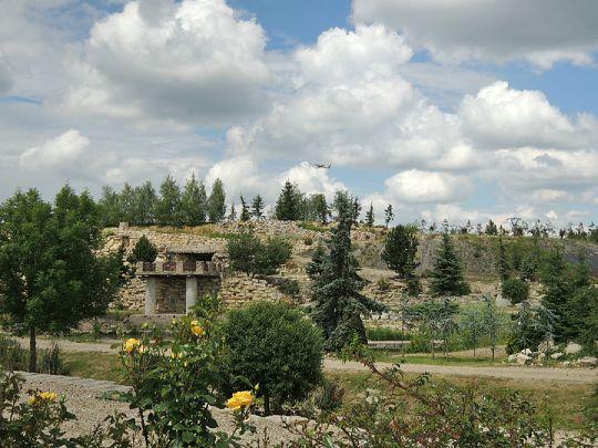 Garden park v Jenči