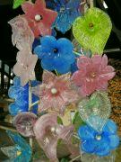 Skleněné květy
