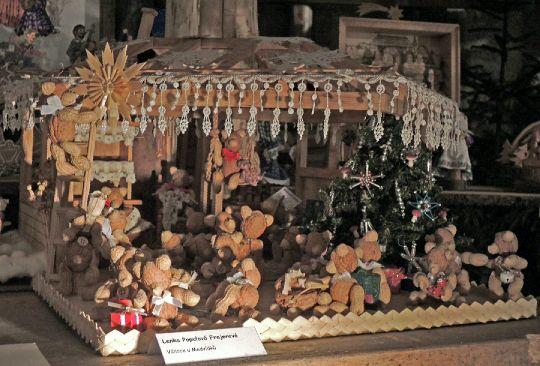 Vánoce u ořechových medvídků