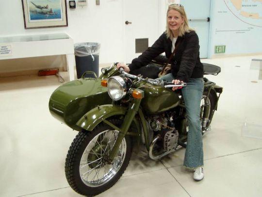 Zkouším motorku