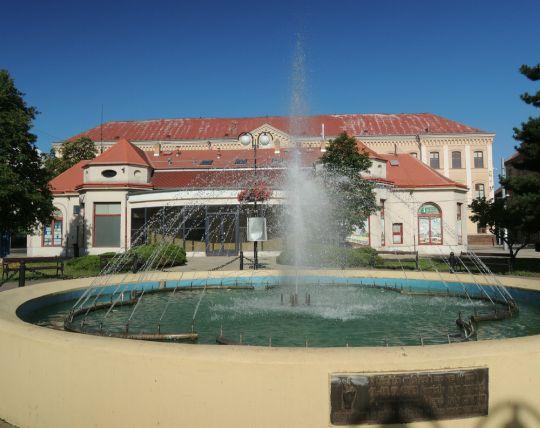 Fontána na Benešově náměstí