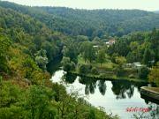 Údolí Dyje pod přehradou
