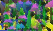 Abstrakce města variace 7