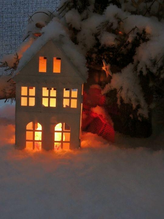Zima na balkoně