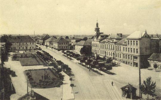 Náměstí v Čelákovicích