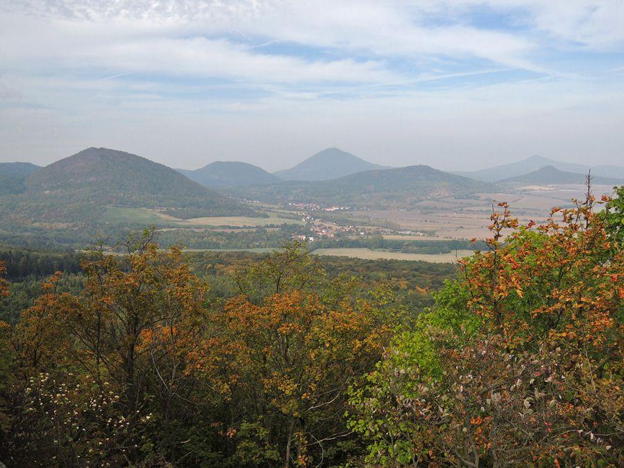 Výhled z hradu Oltářík