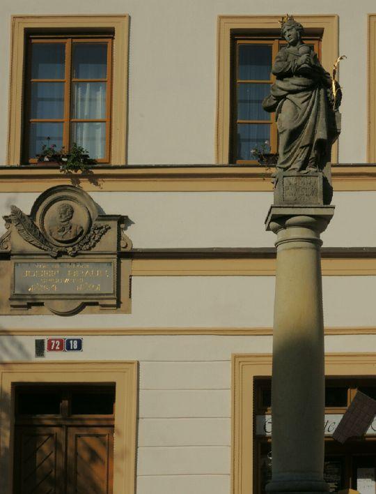 Socha sv. Barbory