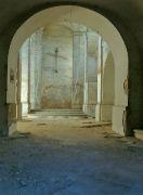 Interiér kaple sv.Ducha