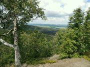 Výhled ze Skalního hradu