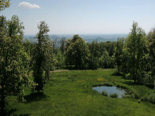Výhled z Alainovy věže