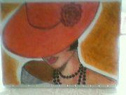 Dáma v červeném klobouku