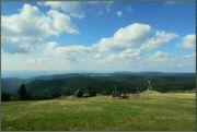Krušné hory - pohled z Neklidu