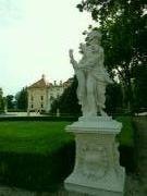 Jedna z restaurovaných soch